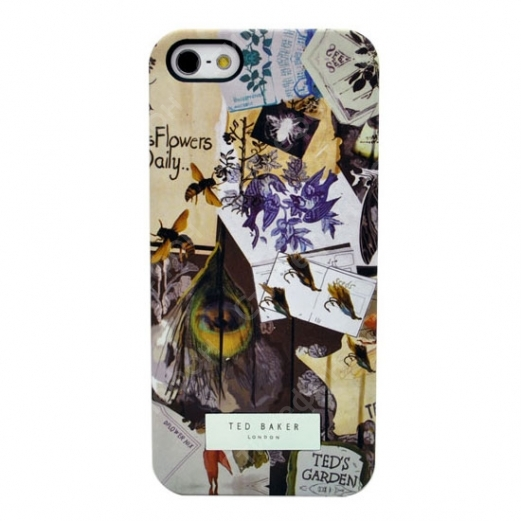 Чехол Ted Baker на iPhone 5/5s (Ted's garden)