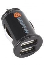 Автомобильная зарядка Griffin PowerJolt Dual USB Universal Micro Car Charger (Черная)