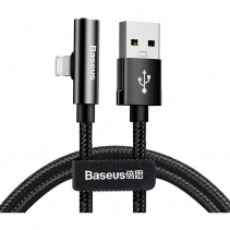 Кабель - переходник Baseus Rhythm Bent Connector Audio Cable 0.5м USB - Lightning CALLD-B01