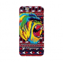 Чехол для iPhone 6 / 6s светящийся Luxo King 7 Animals (Мистер шимпанзе)