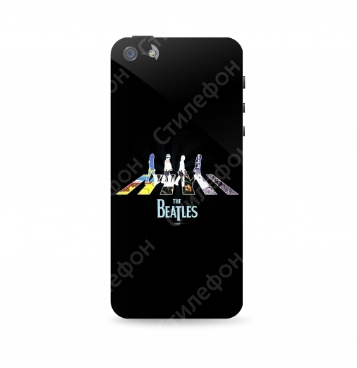 Чехол для iPhone 5s / 6s / 6s+ / 7 / 7+ / 8 / 8+ / Xs / 11 / Pro / Max - Beatles (Битлы)