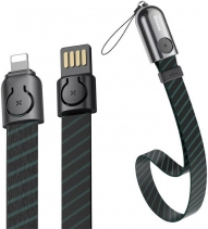 Кабель на запястье Baseus Golden Collar Apple Lightning/USB (35 см)