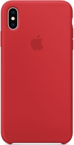 Чехол Apple Silicone Case для iPhone XS MAX (PRODUCT)RED