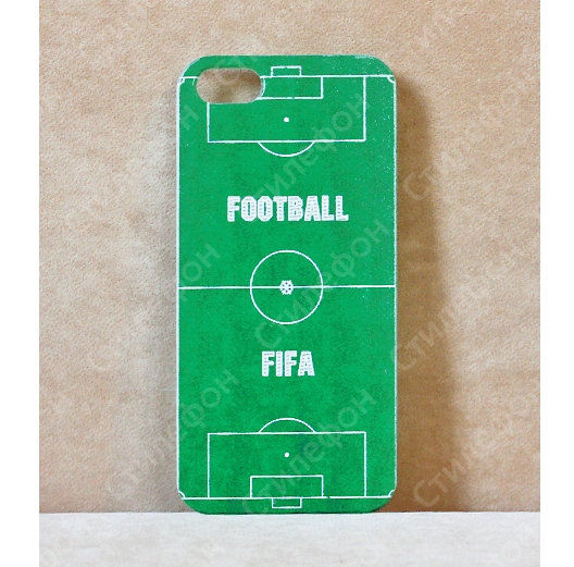 Чехол для iphone 6/6+/ 5/5s/5c/4s Sport Case Футбол ( Football field)