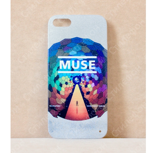 Чехол для iPhone 5s / 6s / 6s+ / 7 / 7+ / 8 / 8+ / Xs / 11 / Pro / Max (Muse)