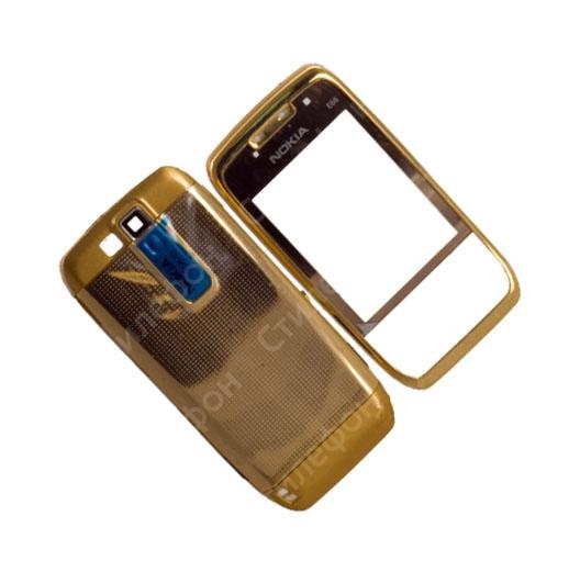 купить корпус для Nokia E66 золото и клавиатуру в интернет-магазине ... acd82605f62b9