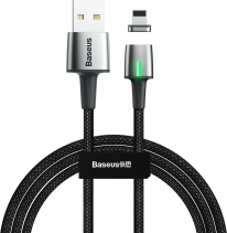 Магнитный кабель Baseus Zinc Magnetic Cable Lightning 2.4A 1м