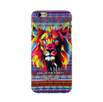 Чехол для iPhone 6  / 6S светящийся Luxo King 7 Animals (Мистер Лев)