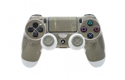 Наклейка Kontrolfreek BattleTested Shield на джойстик Dualshock 4 PS4