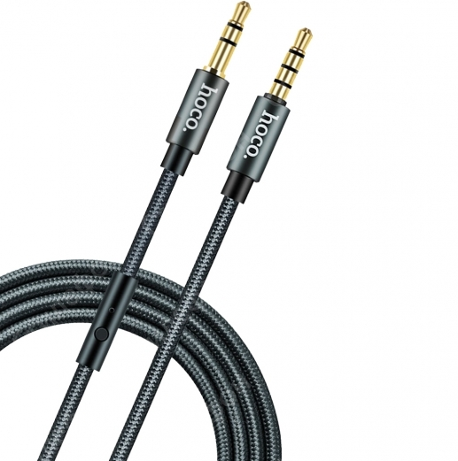 Кабель AUX HOCO UPA 04 Noble Sound Series Audio Cable 1M 3.5mm